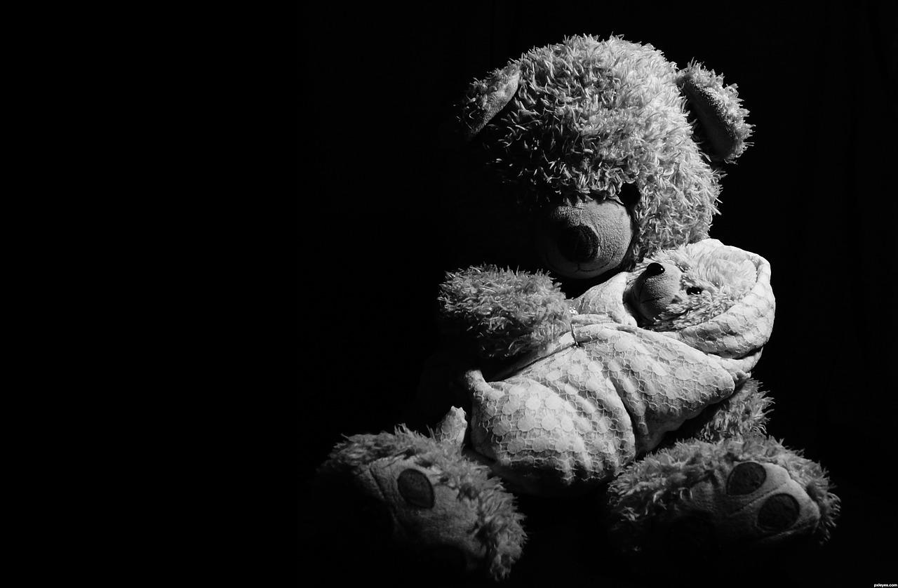 Los niños necesitan abrazos
